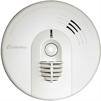 Firex Heat Alarm with Battery Back-Up and Pattress