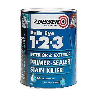 Picture of Zinsser Bulls Eye 1-2-3 Primer-Sealer Stain Killer White