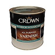 Crown Interior Woodcare All Puprose Varnish Clear Gloss 2.5L