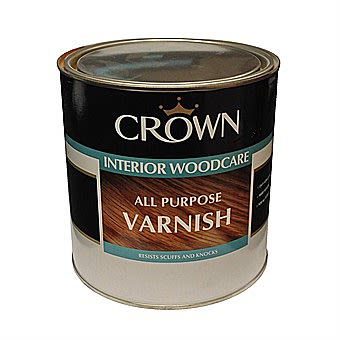 Crown Interior Woodcare All Puprose Varnish Clear Satin 2.5L