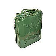Faithfull 20 Litre Steel Jerry Can Green