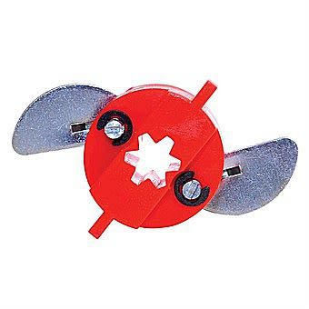 Grip It Universal Plasterboard Fixings Type 16-2 Red Pack of 4 Gripit