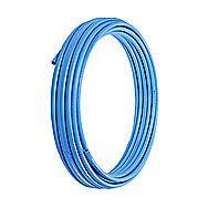 MDPE Blue Alkathene Water Pipe 25mm x 25m
