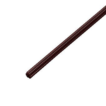 Brown Wall Plug Strip 30cm Long