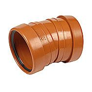 Double Socket Sewer Bend 110mm 11.25º