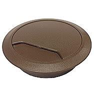 Desktop Grommet 80mm Brown