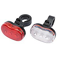 Draper 51748 Front and Rear LED Bicycle Light Set
