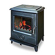 Precision II Multi Fuel Stove 8kW DEFRA Approved