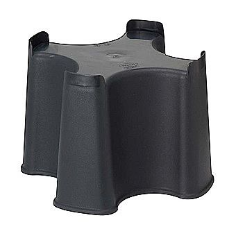 Slimline Plastic Water Butt Stand 16 Inch Black