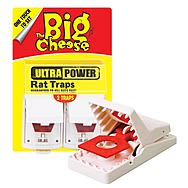 STV The Big Cheese Ultra Power Rat Traps Pack of 2 STV149