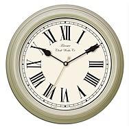 Acctim Redbourn 26702 Wall Clock Gloss Cream