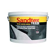 Sandtex High Build Magnolia Textured 15 Year Decorative Paint 15kg