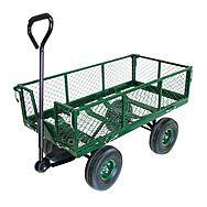 Green Blade Garden Utility Cart 37 x 20 Inch ST300