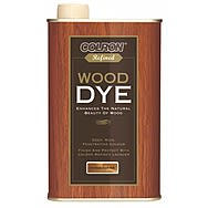 Colron Refined Wood Dye Jacobean Dark Oak 250ml