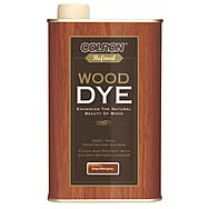 Colron Refined Wood Dye Deep Mahogany 250ml