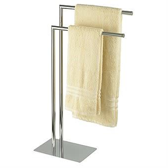 Stamford Free Standing Towel Rail Chrome | Showerdrape