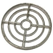 Round Alloy Gully Grid 175mm