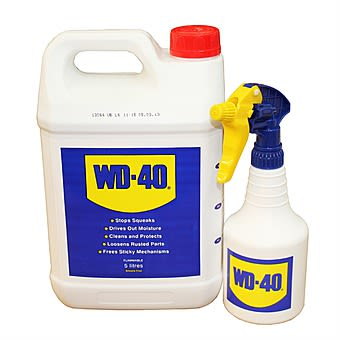 WD40 5 Litre Value Pack with 500ml Sprayer