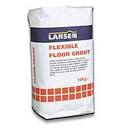 Larsen Flexible Floor Grout Black 10kg