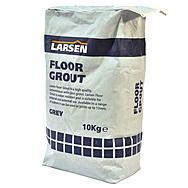 Larsen Floor Tile Grout Grey 10kg