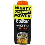 Buster Kitchen Plughole Drain Unblocker 200g