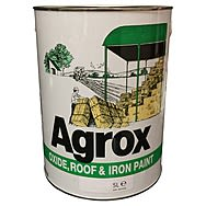 Agrox Grey Oxide, Roof & Iron Paint 5 Litre