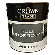 Crown Trade Undercoat White 2.5 Litre