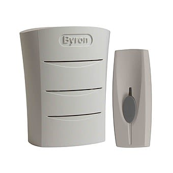 Byron Sentry Wireless Plug In Door Chime with 60m Range