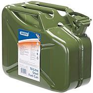 Draper 54441 10 Litre Green Steel Fuel Can