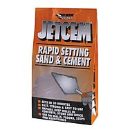 EverBuild Jetcem Rapid Setting Sand and Cement 6kg