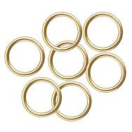 Centurion CW07P Electro Brass 32mm Curtain Rings Pack of 10