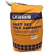 Larsen Fast Set Tile Adhesive 10kg