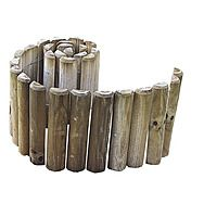 Apollo Garden Edging Wooden Log Roll  300mm x 1820mm