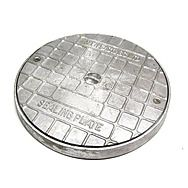 Round Alloy Seal Plate 363mm