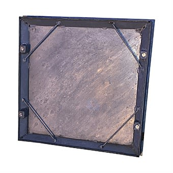 Galvanised Steel Recessed Tray 18 x 18 Inch