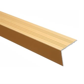 Picture of Trojan Gold Floor Angle Trim 25mm x 25mm x 900mm