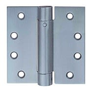 Steel Single Action Spring Hinges 100 x 75mm