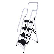 Step Ladder 4 Step Super Safe with Handrail by Pro Plus