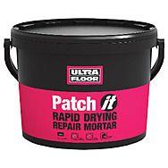 Ultrafloor Rapid 45 Patch It Fast Drying Mortar 10 Kilos
