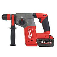 Milwaukee M18CHX-502C 18v SDS+ Rotary Hammer Drill 2 x 5.0Ah Batteries
