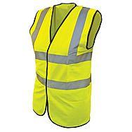 High Visibility Vest / Waistcoat Yellow