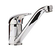 Sanbra Fyffe Aquaflow3 Chrome Single Lever Mixer Kitchen Tap