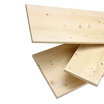 Picture of White Wood Laminated Pineboard (Various Sizes)