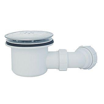 High Flow Shower Waste Chrome 90mm