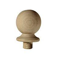 Richard Burbidge Pine Stair Ball Newel Cap 106 x 85 x 85mm