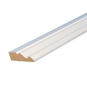 Picture of MDF Moulded Primed Skirting Board 5.4m