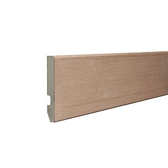 Picture of MDF Round Edge Veneer Oak Skirting Board 4.4m 18mm