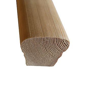 Bevelled Handrail Redwood 69 x 57mm 4.2m