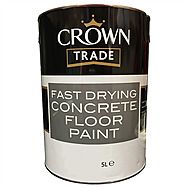 Crown Trade Fast Drying Concrete Floor Paint 5 Litre