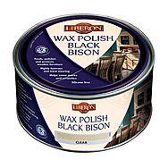 Liberon Black Bison Fine Paste Wax Polish 500ml